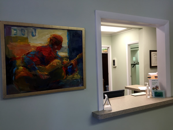 Beautiful dental office
